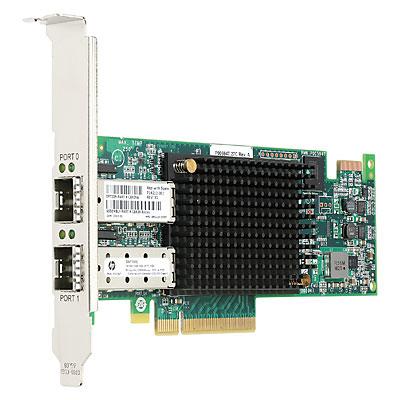 HP StoreFabric SN1100E 16GB Dual Port Fibre Channel Host Bus Adapter
