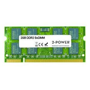 2-Power 2GB DDR2 800MHz SoDIMM