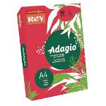ADAGIO Rey Adagio A4 Paper 80gsm Deep Red RM500