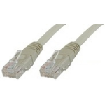Microconnect UTP Cat5E 3m Grey 3m Grey networking cable