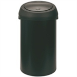 FSMISC 60 LITRE BLACK TOUCH TOP BIN 374038038