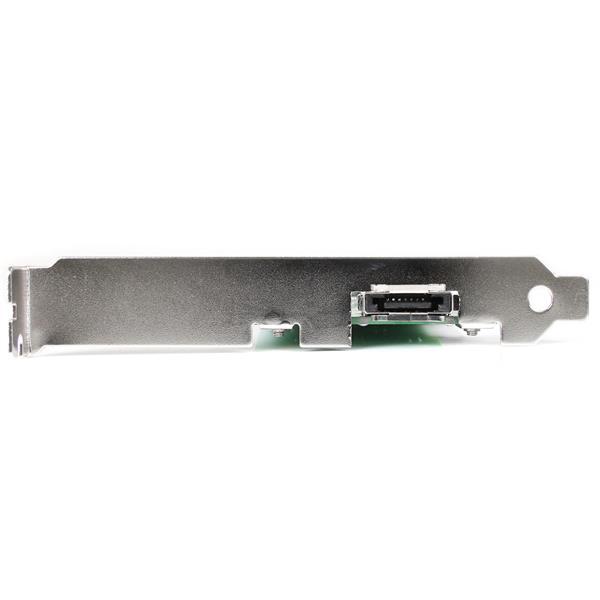 1 Port SATA PCI SATA Controller Card w//LP Bracket eSATA Controller SATA II Controller StarTech.com 1 Port eSATA