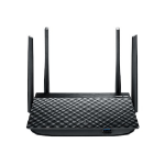 ASUS RT-AC58U wireless router Dual-band (2.4 GHz / 5 GHz) Gigabit Ethernet Black