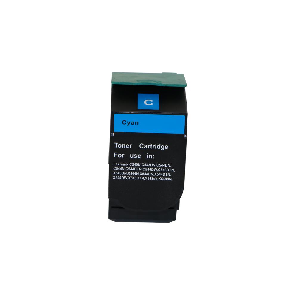 Remanufactured Lexmark C544X2CG Cyan Toner Cartridge