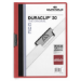 Durable Duraclip 30 PVC Red,Transparent report cover