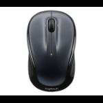Logitech M325 RF Wireless Optical 1000DPI Ambidextrous Black,Grey mice