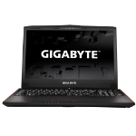 "Gigabyte P series P55WV7-CF2 2.8GHz i7-7700HQ 15.6"" 1920 x 1080pixels Black Notebook"