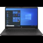 """HP 250 G8 DDR4-SDRAM Notebook 39.6 cm (15.6"""") 1920 x 1080 pixels 10th gen Intel® Core™ i7 8 GB 256 GB SSD Wi-Fi 6 (802.11ax) Windows 10 Pro Black"""