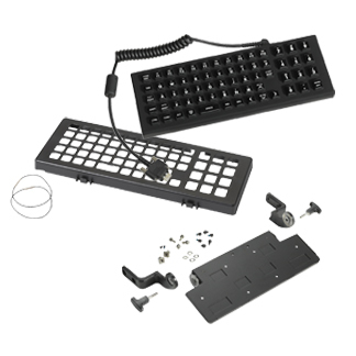 Zebra KT-KYBDQW-VC70-04R USB QWERTY Black keyboard