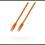 Microconnect UTP CAT5e 1m 1m Cat5e U/UTP (UTP) Orange networking cable