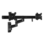 StarTech.com Wall-Mount Dual Monitor Arm - Articulating