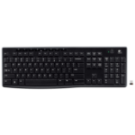 Logitech K270 RF Wireless QWERTZ Swiss Black