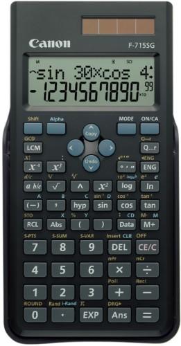 Canon F-715SG calculator Pocket Scientific Black