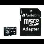 Verbatim Premium memory card 8 GB MicroSDHC Class 10