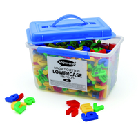 SHOWME TUB 286 MAGNETIC LWERCASE LETTERS