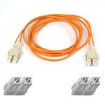 "Belkin Multimode SC/SC Duplex Fiber Patch Cable 1m SCSI cable orange 39.4"" (1 m)"