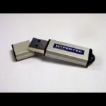 Hypertec 32GB USB 2.0 Slimline Flash Drive; 2 Partition device