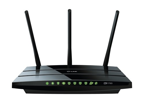TP-LINK Archer C7 Dual-band (2.4 GHz / 5 GHz) Gigabit Ethernet Black wireless router