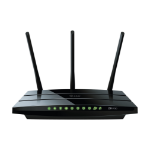 TP-LINK Archer C7 wireless router Dual-band (2.4 GHz / 5 GHz) Gigabit Ethernet Black