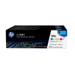 HP CF373AM (125A) Toner MultiPack, 1.4K pages, Pack qty 3