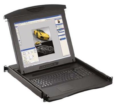 Austin Hughes Electronics Ltd N117-UIP1602E_EU rack console 43.2 cm (17