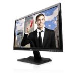 "V7 L23600WHS-9K 23.6"" Full HD Black computer monitor LED display"