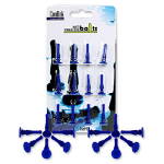 Coolink Case Fan Anti-Vibration Bolts 12-Pack