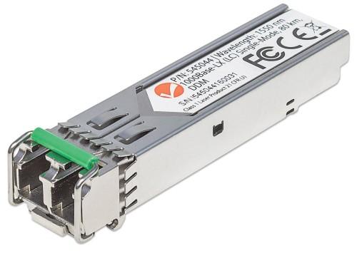 Intellinet Gigabit Fibre SFP Optical Transceiver Module, 1000Base-Lx (LC) Single-Mode Port, 80km