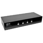 Tripp Lite 4-Port DisplayPort KVM Switch w/ Audio, Cables and USB 3.0 SuperSpeed Hub