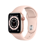 Apple Watch Series 6 40 mm OLED 4G Gold GPS (satellite)