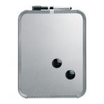 Nobo Slimline Magnetic Board 360x280mm Silver