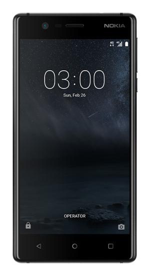 "Nokia 3 5"" 4G 2GB 16GB 2630mAh Black 11NE1B01A01"