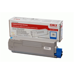 OKI 43865723 Toner cyan, 6K pages @ 5% coverage