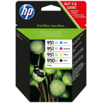 HP 950XL/951XL Origineel Zwart, Cyaan, Magenta, Geel Multipack 4 stuk(s)