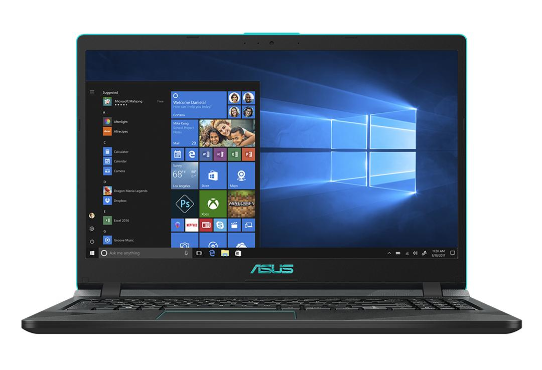 """ASUS F560UD-EJ475T Zwart, Blauw Notebook 39,6 cm (15.6"""") 1920 x 1080 Pixels Intel® 8ste generatie Core™ i5 i5-8250U 8 GB DDR4-SDRAM 512 GB SSD"""
