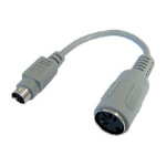 Cables Direct AD-300 keyboard/mouse cable Beige 0.15 m