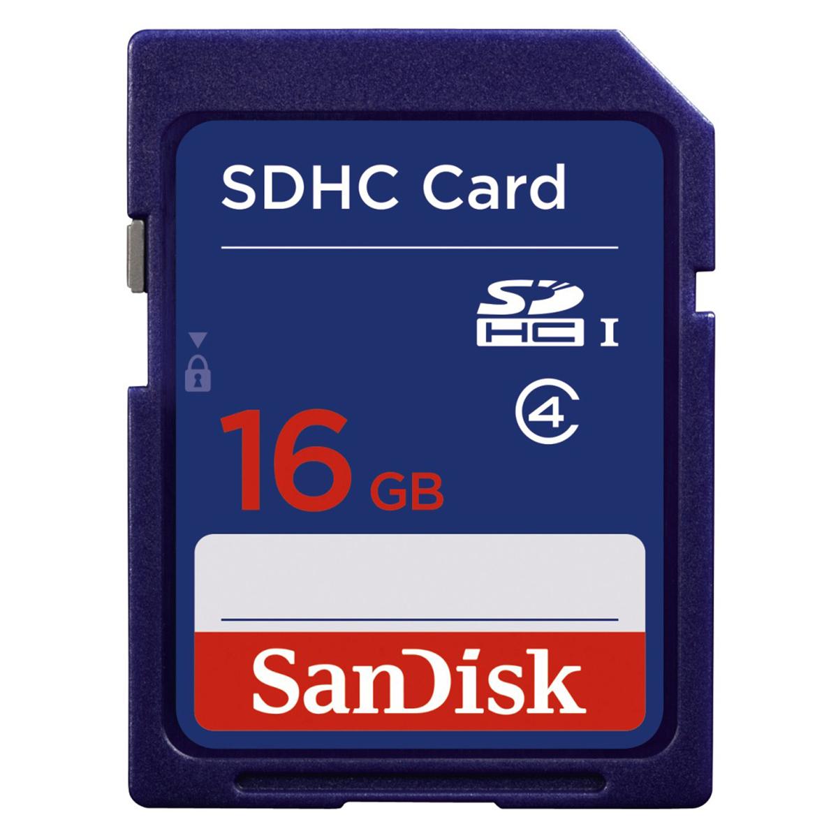 Sandisk SDSDB-016G-B35 memory card 16 GB SDHC Class 4