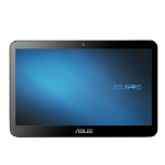 "ASUSPRO A4110-BD027R All-in-One PC/workstation 39.6 cm (15.6"") 1366 x 768 pixels Touchscreen Intel® Celeron® 8 GB SSD Black"