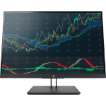 "HP Z24n G2 LED display 61 cm (24"") WUXGA Flat Black"