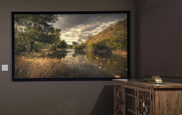 "Draper Clarion projection screen 3.38 m (133"") 16:9 252018"