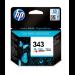 HP 343 Original Cian, Magenta, Amarillo 1 pieza(s) Rendimiento estándar