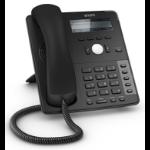 Snom D715 IP phone Black 12 lines