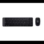 Logitech MK220 RF Wireless QWERTY Italian Black