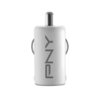 PNY P-P-DC-UF-W01-RB Auto White mobile device charger