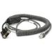 Zebra CBA-R12-C12ZAR 3.7m Grey serial cable