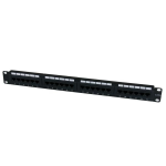 StarTech.com 24 Port 1U Rackmount Cat 6 110 Patch Panel