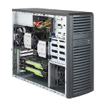 Supermicro SuperWorkstation 7039A-i Intel® C621 LGA 3647 Black