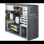 Supermicro SuperWorkstation 7039A-i Intel C621 LGA 3647 Black