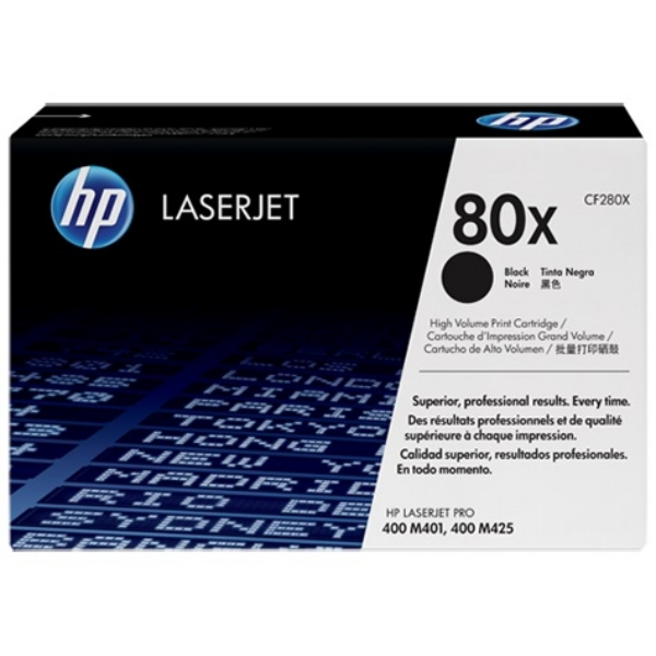 HP CF280X (80X) Toner black, 6.9K pages
