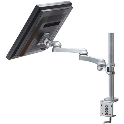 ROLINE SINGLE LCD MONITOR ARM, 5 JOINTS, DESK CLAMP